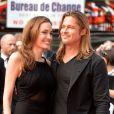 Angelina Jolie, Brad Pitt à Londres, le 2 juin 2013.