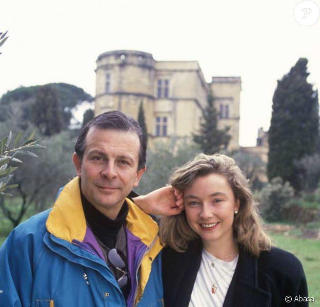 Roland Giraud et sa fille Géraldine
