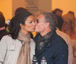 David Coulthard : Baiser passionné à sa belle Karen pour l'ex-gentleman de la F1
