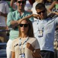 Kim Sears lors du match Andy Murray contre Jo-Wilfried Tsonga à New York le 1er septembre 2014