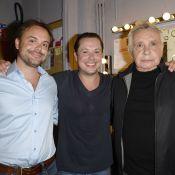 Davy Sardou : Entouré de Michel et Romain, il triomphe dans 'Georges et Georges'