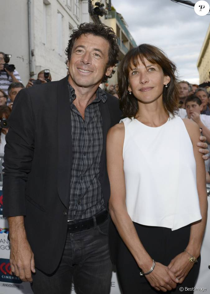 patrick bruel et sophie marceau avant premi re du film tu veux ou tu veux pas lors de l. Black Bedroom Furniture Sets. Home Design Ideas
