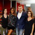 Exclu : Karine Ferri présente une nouvelle activité  de   CMG Sports Club : le pound. Le 4 septembre 2014 au CMG Pure Bastille.