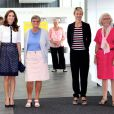 La princesse Mary de Danemark lors d'une conférence de rentrée de la Fondation pychiatrique, dont elle est la marraine, le 10 septembre 2014 à Copenhague.