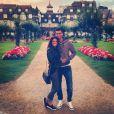 Javier Pastore et Chiara Picone, photo publiée sur le compte Instagram de Javier Pastore, le 24 août 2014