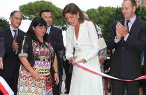 Caroline de Hanovre : Éblouissante, la princesse a inauguré 'sa' rue à Monaco