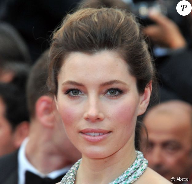Jessica Biel à Cannes, le 19 mai 2013.
