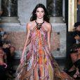 Kendall Jenner - Défilé Émilio Pucci printemps-été 2015 à Milan le 20 septembre 2014.