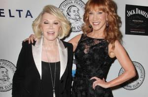 Joan Rivers : Son amie l'humoriste Kathy Griffin hérite de Fashion Police ?