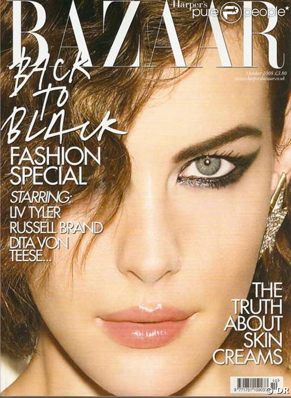 Liv Tyler pour Harper's Bazaar