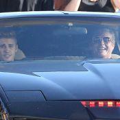 David Hasselhoff, K 2000 revival: Cuir noir et Kitt avec Justin Bieber aux anges