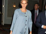 Charlene de Monaco enceinte : À New York, elle camoufle élégamment son baby bump