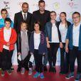 """Tony Parker et Grand Corps Malade - 9éme édition du """"Par Coeur Gala"""" à Lyon le 25 septembre 2014."""