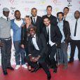 """Le chanteur Passi, Tony Parker, Grand Corps Malade, John Mamann - 9éme édition du """"Par Coeur Gala"""" à Lyon le 25 septembre 2014."""