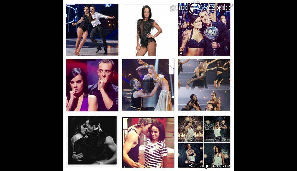 Alizée souhaite bonne chance à Danse avec les stars 5 sur son compte instagram, le 27 septembre 2014.