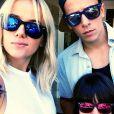 Alizée, Grégoire Lyonnet et Annily : une belle petite famille !