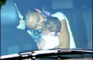 REPORTAGE PHOTOS : Jessica Alba, nouvelle sortie avec papa et bébé... (réactualisé) Nouvelles photos !