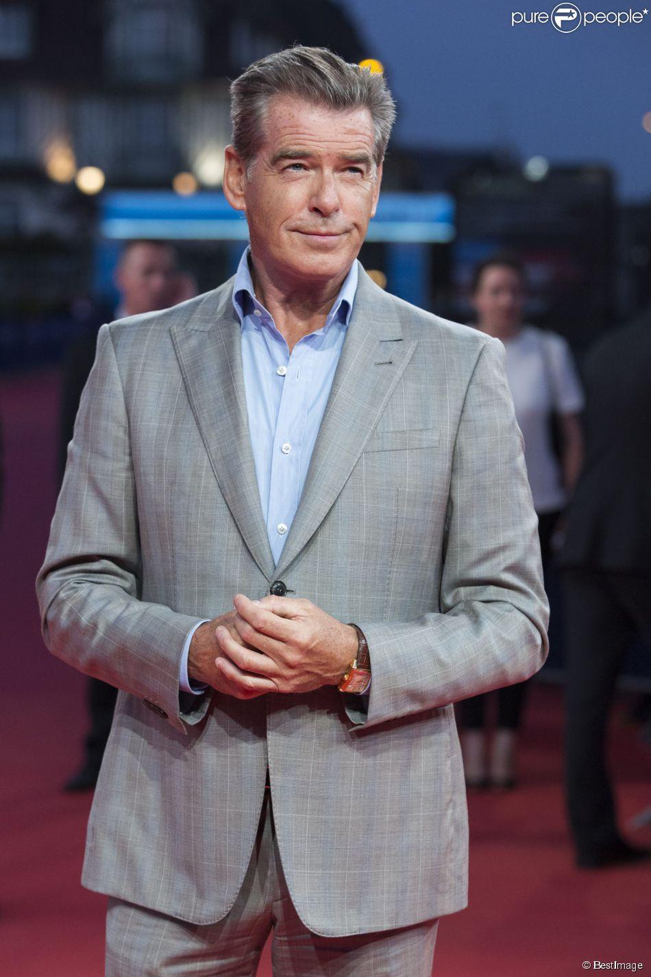 """Pierce Brosnan - Avant-première du film """"The November Man"""" lors du 40e festival du film américain de Deauville, le 11 septembre 2014."""