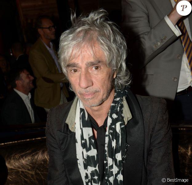 Louis Bertignac - Inauguration de la discothèque L'Arc à Paris le 2 octobre 2014 suite à sa réouverture au 12 Rue de Presbourg.