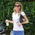 Ellen Pompeo se promène à West Hollywood, le 29 juillet 2014.