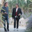 Rendez-vous avec Alain Souchon et Laurent Voulzy, qui sont de passage à Beaulieu-sur-Mer pour peaufiner leur album, le 27 août 2014.