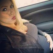 Stéphanie (Secret Story 4), enceinte de 5 mois: Ventre très arrondi et look rock