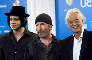 PHOTOS : Led Zepp', U2 et The Raconteurs réunis : y a de quoi casser sa guitare !