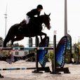 """Charlotte Casiraghi lors du """"GPA Jump Festival"""" de Cagnes-sur-Mer, le 10 octobre 2014"""