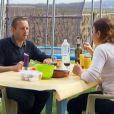 """Mathieu et Virginie - """"L'amour est dans le pré 2014"""" sur M6. Episode du 11 août 2014."""