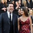 Javier Bardem et Penélope Cruz aux Oscars 2011.