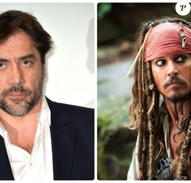 Javier Bardem en méchant face au Jack Sparrow de Johnny Depp dans Pirates des Caraïbes 5 ?
