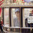Kate Middleton lors de la parade des Horse Guards à Londres. Le 21 octobre 2014
