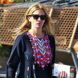 Exclusif - Julia Roberts à Malibu, le 12 octobre 2014.