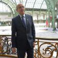 Exclusif - Alain Juppé pose lors de la soirée de vernissage de la FIAC 2014 organisée par Orange au Grand Palais à Paris le 22 octobre 2014.