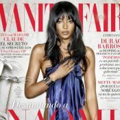 Naomi Campbell : Quadra sensuelle en tenue d'Eve