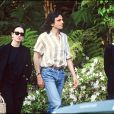 Isabelle Adjani et Daniel Day-Lewis à Los Angeles le 23 mars 1990