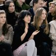 Daughter of Princess Caroline of Monaco Charlotte Casiraghi gave birth to a baby boy she had with actor and comedian Gad Elmaleh at the Princess Grace Hospital in Monaco on Tuesday it was reported on Wednesday December 18. File photo : Charlotte Casiraghi, Alysson Paradis, Vanessa Paradis and Sigourney Weaver attend Chanel's Haute-Couture Spring-Summer 2007 collection presentation held at 'Le Grand Palais', in Paris, France, on January 23, 2007. Photo by Khayat-Nebinger-Orban-Taamallah/ABACAPRESS.COM18/12/2013 - Paris