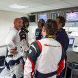 Exclusif -Fabien Barthez lors du championnat de France F4 GT Tour au circuit Paul-Ricard au Castellet le 25 octobre 2014