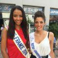Mathilde Hubert est Miss Poitou-Charentes (en compétition pour le titre de Miss France 2015)