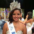 Ingreed Mercredi est Miss Réunion (en compétition pour le titre de Miss France 2015)