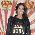 """Laurie Cholewa - Générale de la comédie musicale """"Love Circus"""" au théâtre des Folies Bergère à Paris, le 28 octobre 2014."""