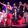 """Générale de la comédie musicale """"Love Circus"""" au théâtre des Folies Bergère à Paris, le 28 octobre 2014."""