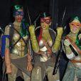 Rihanna célèbre Halloween déguisée en Tortue Ninja. New York, le 31 octobre 2014.