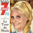 Christiane Minazzoli en couverture de Télé 7 jours du 30 juillet 1966