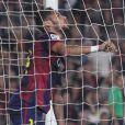 Neymar lors du match opposant le FC Barcelona au Celta Vigo à Barcelone en Espagne le 1er novembre 2014.
