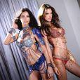 Adriana Lima et Alessandra Ambrosio porteront les Dream Angels Fantasy Bras créés par Mouawad pour Victoria's Secret, lors du défilé 2014 de la marque de lingerie.
