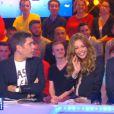 Thierry Moreau, Nabilla et Julien Courbet dans Touche pas à mon poste, le mercredi 5 novembre 2014.
