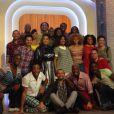 La troupe de The Black Legends sur le plateau de Comment ça va bien, le 27 octobre 2014