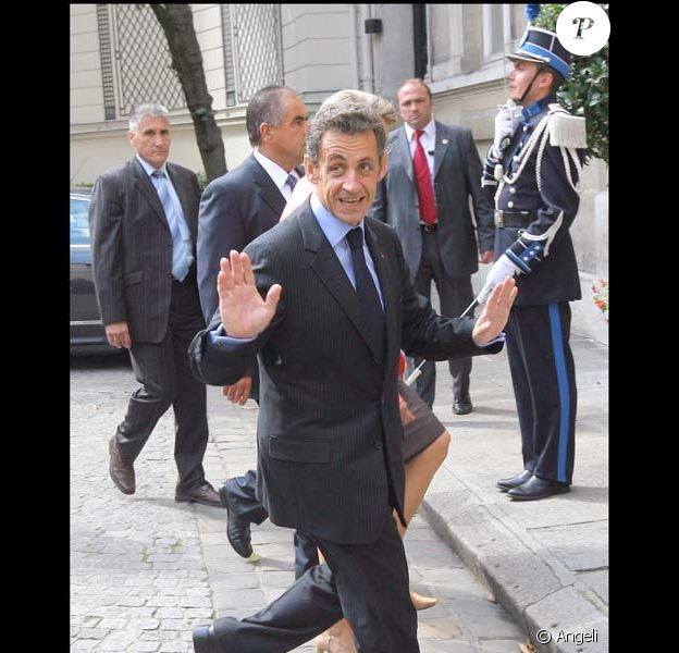 Nicolas Sarkozy : le 10 septembre 2008, une journée chargée !