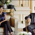 Nicolas Sarkozy de très bonne humeur, lui aussi !